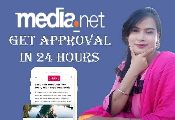 How To Get Media Net Approval Within 1 day