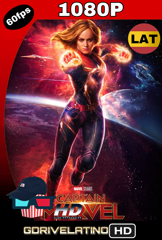 Capitana Marvel (2019) BDRip 1080p Latino-Inglés MKV