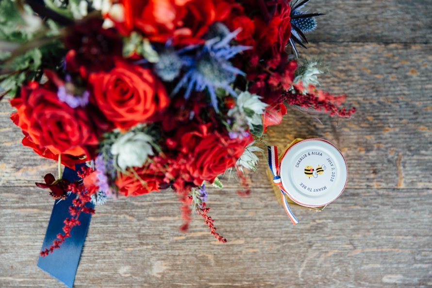 Vintage Americana Fourth of July Wedding by Something Minted Photography