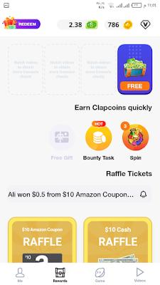 تحميل تطبيق ClipClaps شاهد فيديوهات مضحكة فقط  و اربح دولارات مجانا 2021