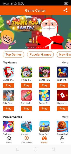 play games on rozdhan app