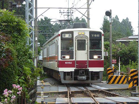東武日光線 普通 下今市行き 6050系