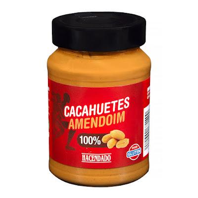 Crema de cacahuetes 100% natural Hacendado