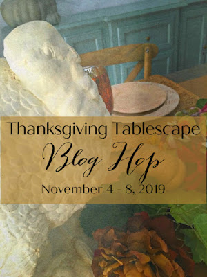 Thanksgiving tablescape blog hop