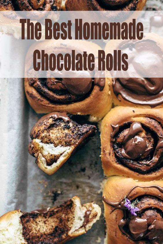 The Best Homemade Chocolate Rolls