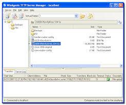 اليكم برنامج tftp server download لتحميل الملفات برابط مباشر