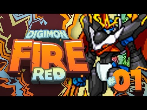 DIGIMON FIRE RED VERSION
