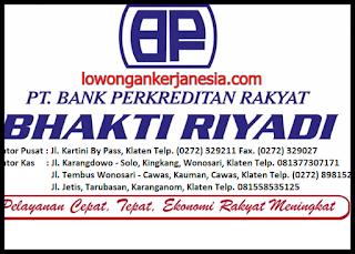 lowongankerjanesia.com BPR Bhakti Riyadi
