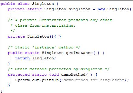 Singleton Class