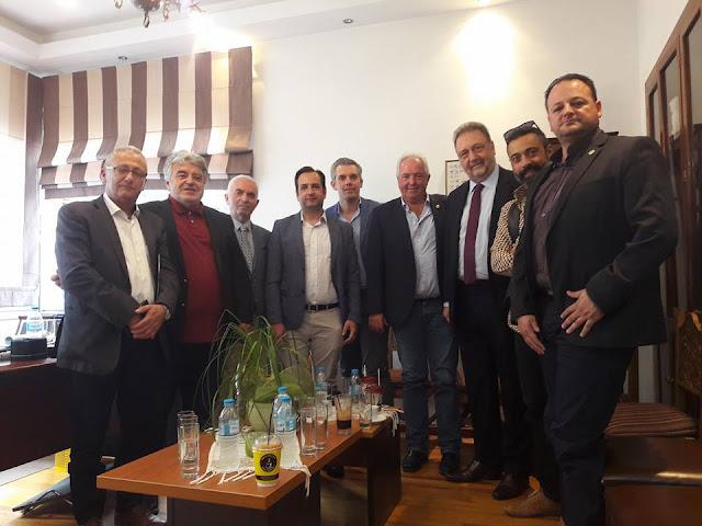 Συμμετοχή του Αλ. Πάσχου σε συνάντηση των Προέδρων των Επιμελητηρίων της Ηπείρου με τον Υφυπουργό Οικονομίας & Ανάπτυξης κο Στέργιο Πιτσιόρλα