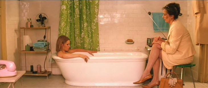 decors and colors in wes andersons movies home decor With margot tenenbaum bathroom