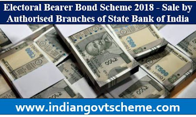 Electoral Bearer Bond Scheme