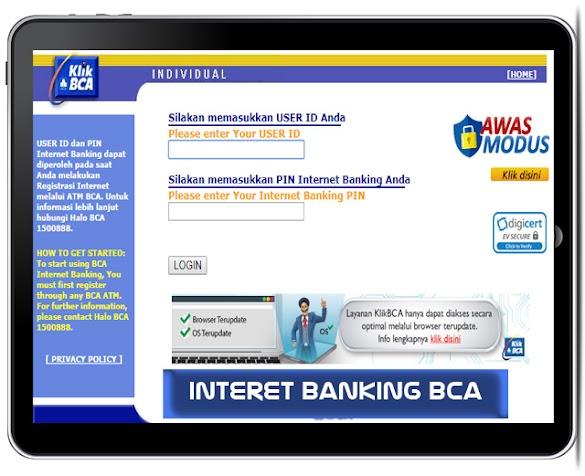 Cara Daftar Internet Banking BCA dengan Mudah Banget
