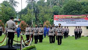 Kapolres Pimpin Sertijab Pejabat di Lingkungan Polres Batang