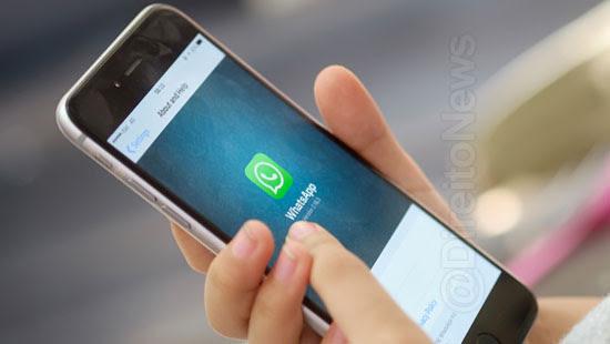 conversa whatsapp comprova pagamento advogado direito