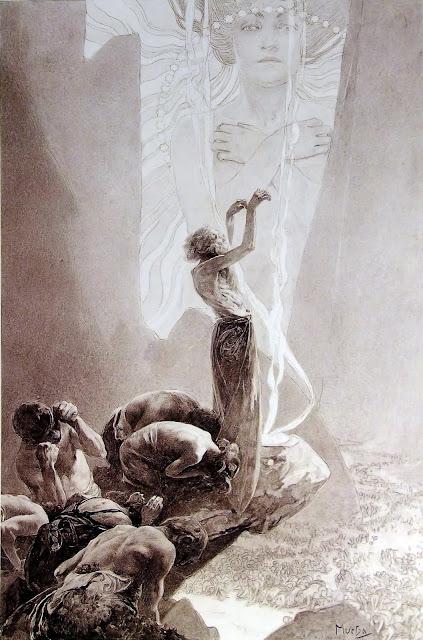 Альфонс Муха - Отче наш (2). 1899