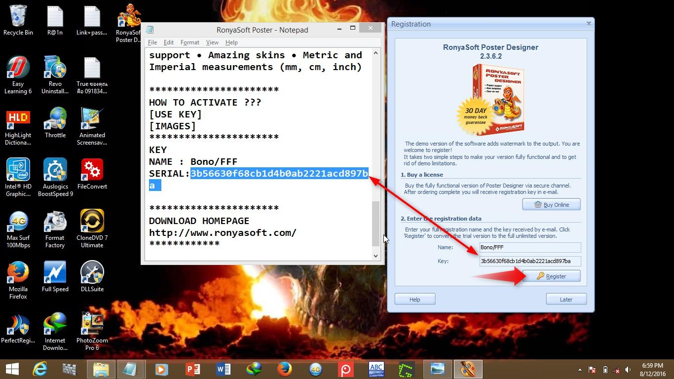 Ronyasoft poster designer 2.3.18 serial key generator