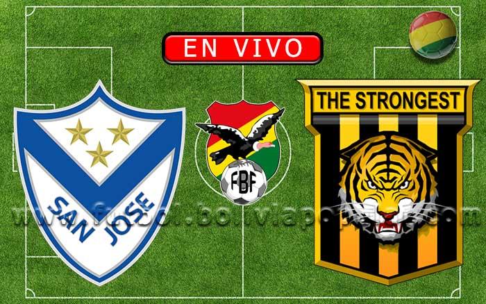 【En Vivo】San José vs. The Strongest - Apertura 2020