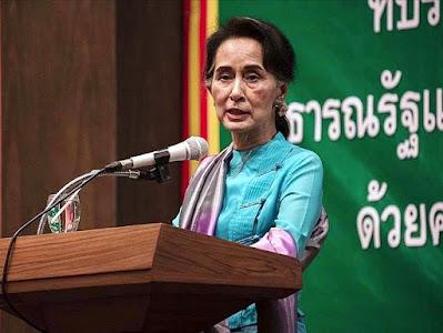 Aung San Suu Çii hakkında.