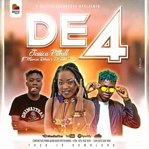 Jéssica Pitbull feat. Marcos Robem & Kit Mizurba - De 4 (Afro House) Prod. Dj Taba Mix Download mp3