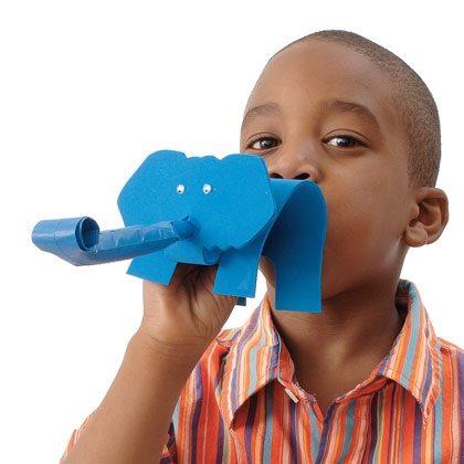 Trumpeting Elephant