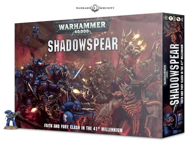 Unboxing Warhammer 40,000 Shadowspear