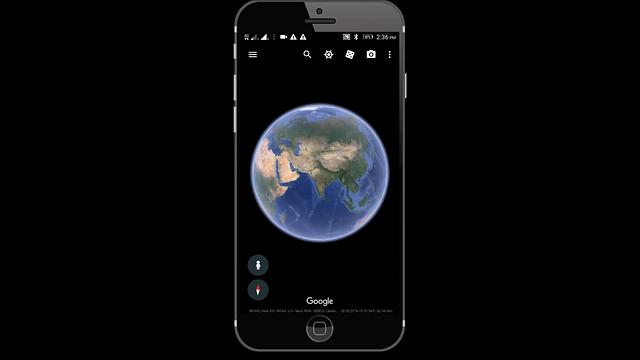 google earth india in hindi