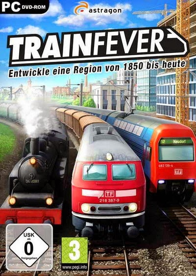 Train Fever USA [Game Simulasi Kereta Api For PC]
