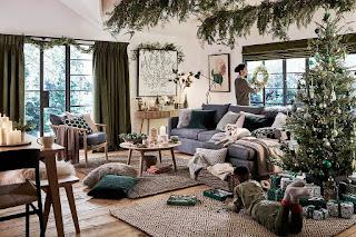Праздничный декор. Рождество с прикосновением природы