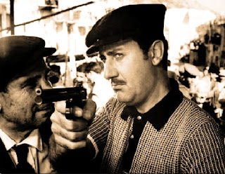Alberto Sordi in the 1962 black comedy Mafioso