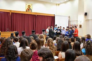 Ο Μητροπολίτης Κίτρους, Κατερίνης και Πλαταμώνος κ. Γεώργιος μοιράστηκε με νέους σκέψεις και προβληματισμούς, με αφορμή τον πρώτο εορτασμό της μνήμης του Αγίου Μελετίου Επισκόπου Κίτρους