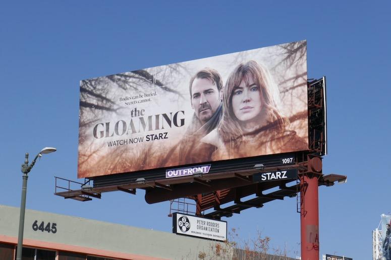 Gloaming series launch billboard