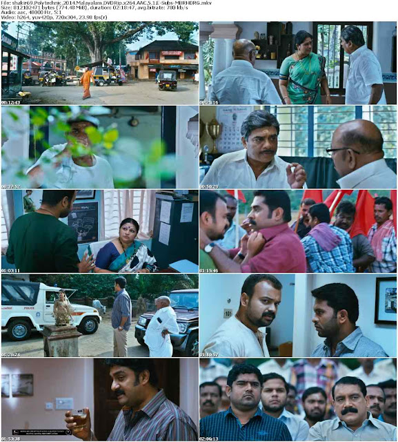 Polytechnic 2014 Malayalam Movie DVDRip Download