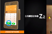 Officially, the following are the appearance and cool features Samsung Z2