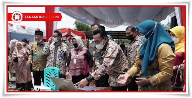Tabek Patah Salimpaung Nagari Binaan Berbasis IT Diresmikan Bupati Eka Putra