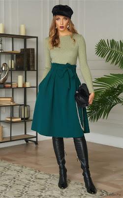 Faldas Bonitas Para Vestir Casual Mujer 2020 Faldas