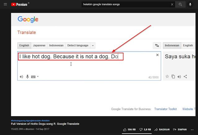 lirik lagu google translate dari heiakim