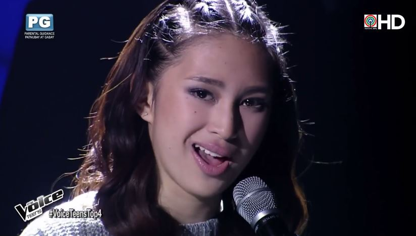 "Isabela Vinzon is Team Bamboo's bet for ""The Voice Teens"" grand finals"