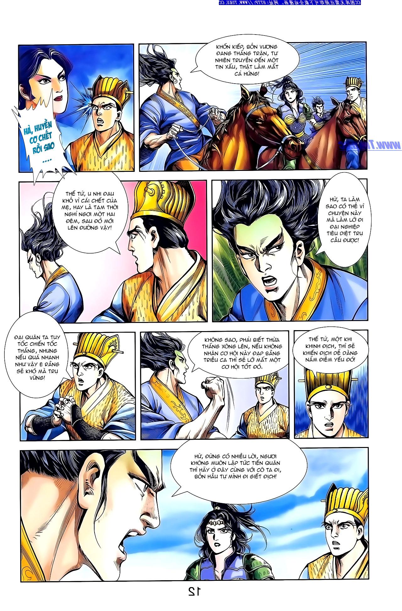 Cơ Phát Khai Chu Bản chapter 138 trang 23