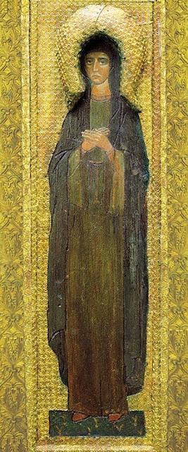 Николай Рерих - Святая Великомученица. 1907