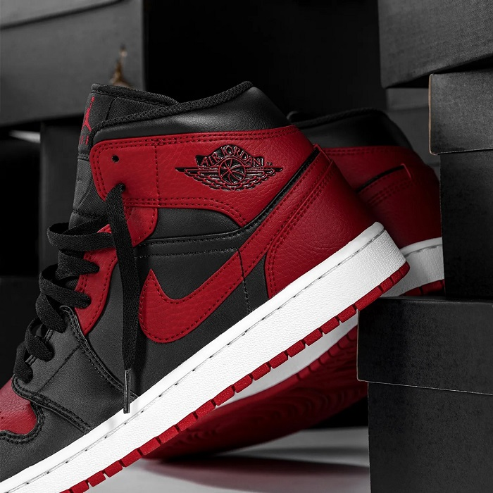 Air Jordan 1 Mid Banned Price Available
