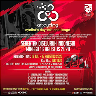 Lomba Art Cycling id 2020