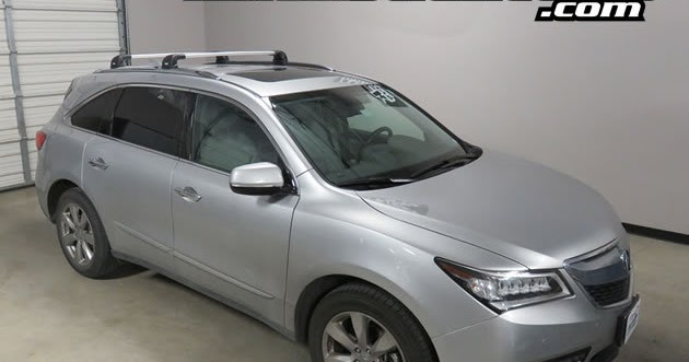 Rack Outfitters Acura Mdx Thule Silver Aeroblade Edge