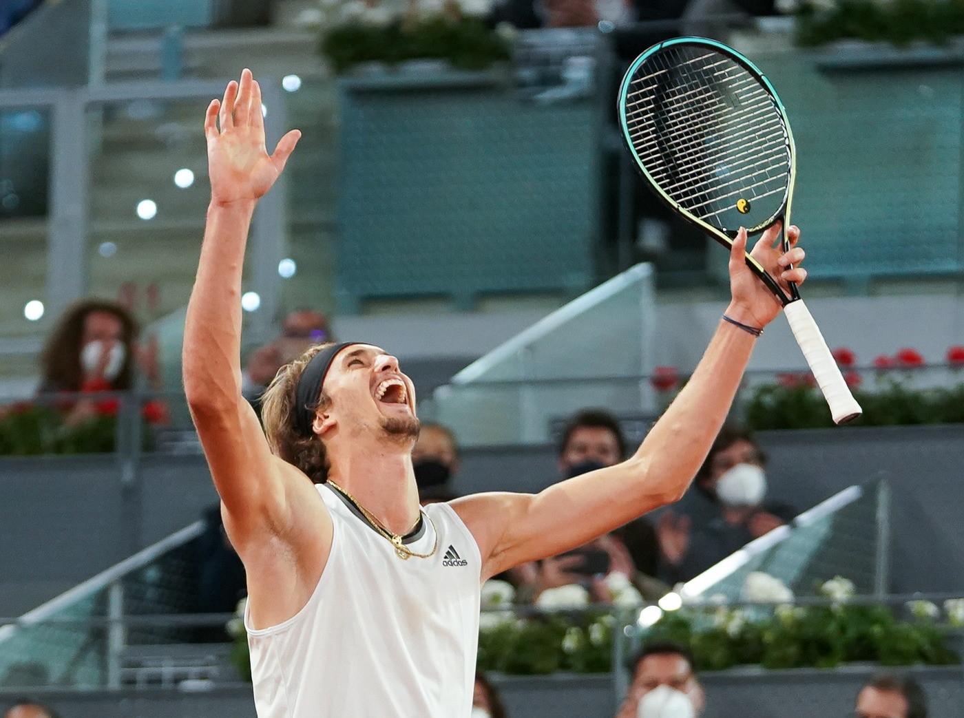 Alexander Zverev vence a Matteo Berrettini en la final del Masters 1000 de Madrid