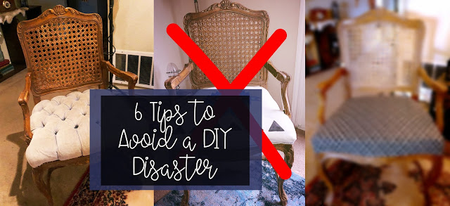 6 Tips to Avoid a DIY Disaster