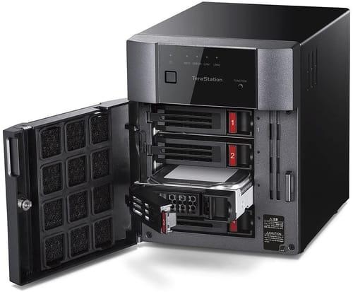 Review BUFFALO TeraStation 3410DN Desktop 12 TB NAS