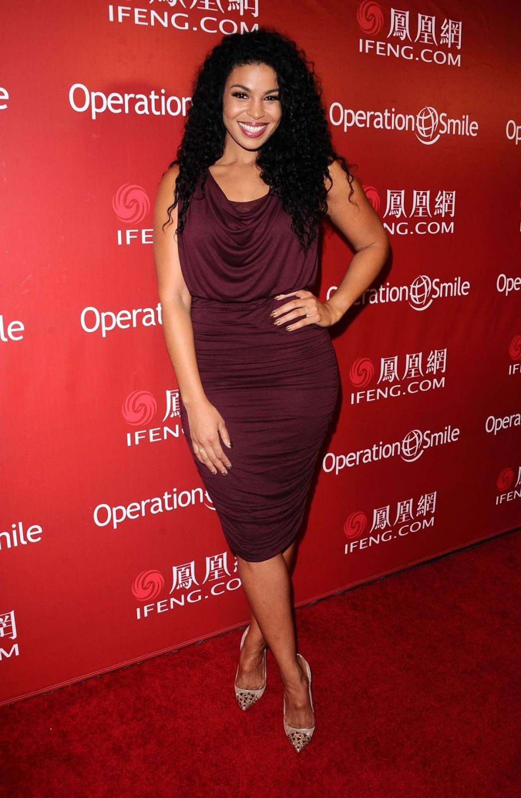 Jordin Sparks at Operation Smile Gala