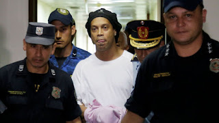 Ronaldinho Released From Paraguay Prison