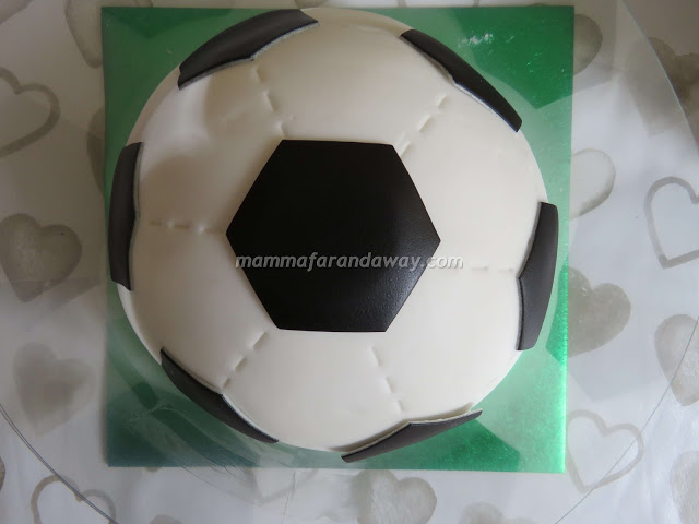 torta calcio