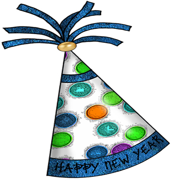 new year hat clipart - photo #8